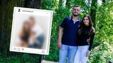 """(Video) """"Que escándalo"""": Se acaban en críticas a esposa de Edén de Calibre 50 por ocultar la cara a su hijo en una foto"""