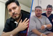 Vocalista de la Banda MS reaparece luego de la cirugía bariátrica que tuvo hace una semana