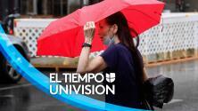 Tiempo en San Antonio: inicio de semana con lluvias dispersas y altas temperaturas