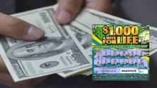 Mujer de Hialeah gana $1,000 a la semana de por vida con el raspadito de la Lotería