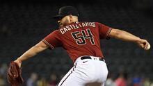 Humberto Castellanos consigue su primera victoria en la MLB