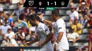 'Chicharito' Hernández reaparece en empate de LA Galaxy
