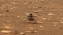 El helicóptero Ingenuity sobrevuela Marte por más tiempo y hace un recorrido más largo