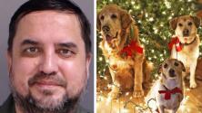 Le disparó y lo carbonizó: arrestan a hombre por crueldad animal en Pensilvania