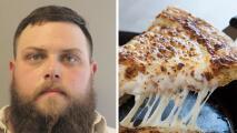 Acusan a hombre de amenazar con un rifle a repartidor de pizzas por negarse a pagar