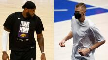 Polémica en la NBA tras multa a Porzingis y 'perdón' a LeBron