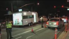 Máxima vigilancia de las autoridades de California por fin de semana festivo
