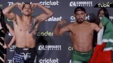 García y González superan el pesaje en Mexicali