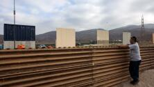 Finalizados cinco de los ocho prototipos para construir el muro de Trump