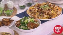 No desperdicies las sobras de comida por el Super Bowl: los chefs Lorena y Yisus te muestran cómo aprovecharlas
