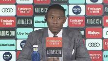 David Alaba dio ya sus primeras palabras como jugador del Real Madrid