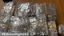 Decomisan 71 libras de pastillas de fentanilo envueltas en paquetes de comida