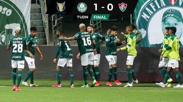 Palmeiras vence a Fluminense y domina el Brasileirao