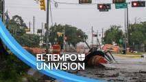 Miles de personas en Houston continúan sin energía eléctrica a causa de Nicholas: no hay reportes de fallecidos