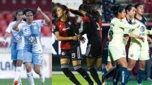 Pachuca, Atlas y América lideran la Liga MX Femenil tras la Jornada 5