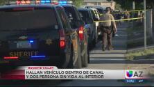 Revelan la identidad de las dos personas halladas muertas en un canal en Buckeye Valley