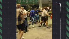 ¡Violencia en Wembley! Trifulcas durante la Final de Euro 2020