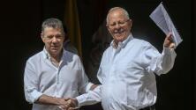 Presidentes de Colombia y Perú piden ayuda humanitaria para Venezuela