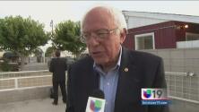 Agricultura e inmigración, temas de Sanders en El Valle