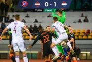 Con solitario gol, Holanda vence a Letonia y camina firme a Qatar 2022
