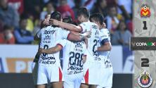 Morelia 1-2 Chivas - RESUMEN Y GOLES - Jornada 5 del Apertura 2018 de la Copa MX