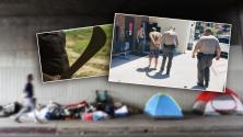 Hombre indigente ataca a latino con un machete en una playa de Los Ángeles (y hace que pierda un ojo)