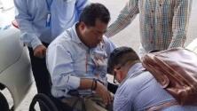 Con patadas y puños: el opositor nicaragüense Félix Maradiaga es agredido por simpatizantes sandinistas