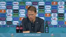 """Frank de Boer tras eliminación de Holanda: """"En un minuto cambió todo"""""""