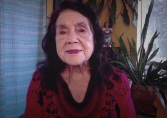 """""""Biden siempre ha estado del lado de los latinos"""": Dolores Huerta sobre la importancia de elegir al demócrata como nuevo presidente"""