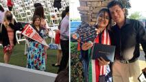 """""""Cuando se graduó no dejé de llorar"""" madre de dreamer que gana beca para la universidad en Houston"""