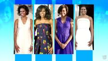 Los otros vestidos con los que Michelle Obama también brilló como Primera dama