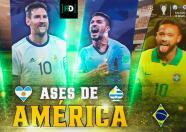 Ases de América: Luis Suárez, el goleador nato de Uruguay
