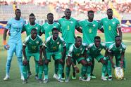 Soccer Football - Africa Cup of Nations 2019 - Semi-Final - Senegal v Tunisia - 30 June Stadium, Cairo, Egypt - July 14, 2019 Senegal team group before the match REUTERS/Suhaib Salem