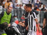 Dybala llora por una nueva lesión y Juventus pierde igual a Morata
