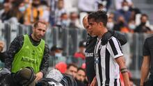 Hasta las lágrimas... Dybala llora por una nueva lesión