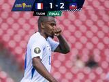 Martinica logra anotar gol 1,000 de la historia de la Copa Oro