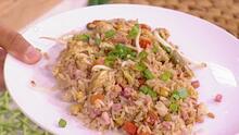 ¿Te sobró arroz del día anterior? Prepara un nuevo platillo inspirado en la cocina china