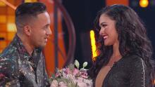 El momento de la noche: Kiara Liz recibió la felicitación más importante de parte de su novio, el cantante Juan Vélez