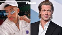 Bad Bunny quiere ser como Brad Pitt