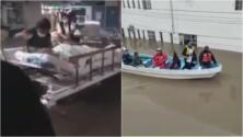 """""""Oxígeno"""": la petición de doctores en medio de un hospital inundado en México"""