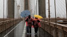 Advertencia por lluvia intensa y ráfagas de viento en Nueva York y California el fin de semana