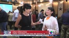 Gina Hinojosa, virtual ganadora para el Dist. 49