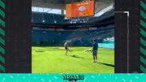 Qué talento: Simona Halep es tenista y también podría ser futbolista