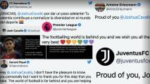 Joshua Cavallo se declara gay; Piqué y Griezmann envían su apoyo
