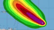 Sam avanza por el Atlántico como un poderoso huracán categoría 4: sigue aquí su trayectoria