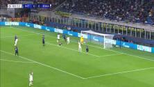 ¡GOL!  anota para Real Madrid. Rodrygo