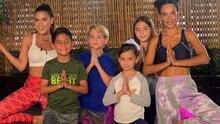 Niños tranquilos y relajados con esta rutina de yoga que puedes hacer en casa con Yudy Arias