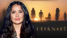 """Salma Hayek estuvo a punto de rechazar participar en 'Eternals', pensó que le darían el papel de """"abuela"""""""