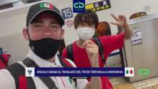 Una odisea: así fue la travesía del Tri olímpico para llegar a Japón