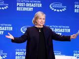 Hillary Clinton advierte sobre el cambio climático en Puerto Rico